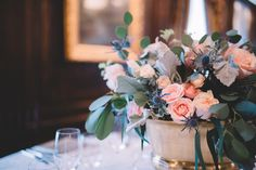 One of many beautiful photos from a fantastic style shoot with the Hermitage Hotel, T. Villager Designs, and Graceful Tables. Loved the way these turned out! Hermitage Hotel, Nashville Wedding, Reception, Table Decorations, Tables, Inspiration, Beautiful, Photos, Design