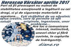 Horoscop aprilie 2017 Vărsător Astrology