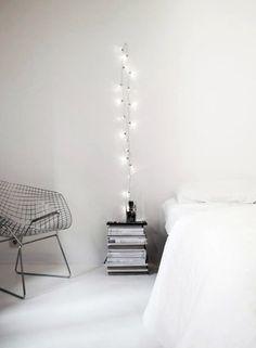 Så inreder du med ljusslingor i sovrummet – 7 fina tips