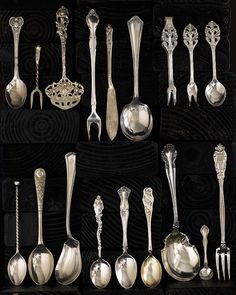 My spoon collection. Photography ©William Brinson