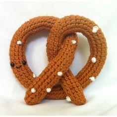 Ha ha! Amigurumi pretzel By Whimsy Loves Wit on Etsy