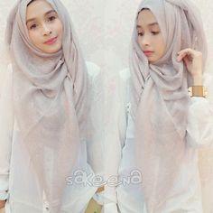 Wearing hijab fashion of SakeeNa #sakeena #sakeenaid #sakeenahijab #hijabeena visit http://instagram.com/hijabeena