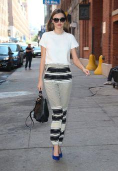 Miranda Kerr's Street Style NYC