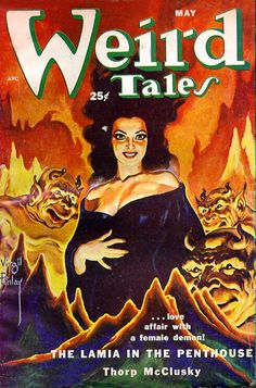 New item in my etsy shopWeird Tales US pulp magazine cover May 1952 by PanchromaticaDesigns. Find it here http://ift.tt/1RYg5C5