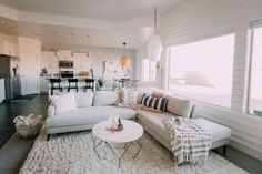 It's house tour time! I did a room tour a while back so I will link that post . It's house tour time! I did a room tour a while back so I will link that post here, but today I am showing you all the rest of the house! Our house isn't finished… Living Room Grey, Home Living Room, Living Room Designs, Living Room Decor, Home Interior, Living Room Interior, Living Room Furniture, Interior Design, Furniture Decor