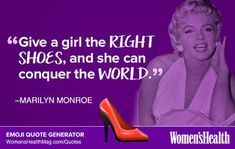 Here's Your Inspirational Quote from Marilyn Monroe  https://www.womenshealthmag.com/life/marilyn-monroe-quote