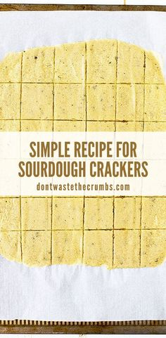 Sourdough discard crackers are thin, crispy and have that amazing tang that you can only get with real sourdough! You'll never want to throw away your sourdough discard after your taste these addictive crunchy crackers! This simple recipe for Sourdough Crackers is the easiest you will ever make – using either starter or discard. It's versatile, healthy and delicious! Serve with my Favorite Homemade Hummus Recipe! #sourdough #crackers #vegan #vegetarian Homemade Italian Dressing, Homemade Hummus, Sourdough Recipes, Allergy Free Recipes, Hummus Recipe, Leaf Clover, Footprints, Three Kids, Confectionery