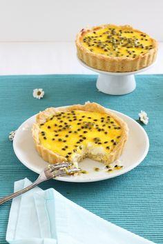 Rezept Cheesecake-Tartelettes-mit-Passionsfrucht-Curd