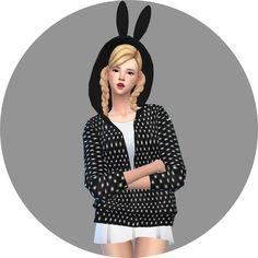 Marigold : [update] Acc ear hood jacket & vest.