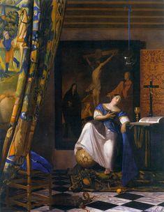 VERMEER, Johannes  The Allegory of the Catholic Faith