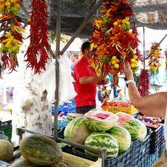 Alcudia market, Mallorca