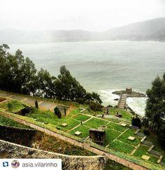 Preciosas las vistas de las que está disfrutando @asia.vilarinho desde el Hotel Thalasso Cantábrico Las Sirenas en #Viveiro, #Lugo #SienteGalici