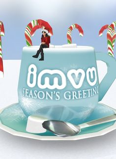 """Season's Greetings"" Captured Inside IMVU - Join the Fun!"