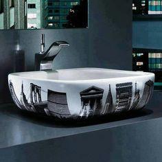 Diseño de lavabo artístico