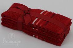 Набор полотенец BALE красный 30х50 (3шт) от Karna (Турция) - купить по низкой цене в интернет магазине Домильфо