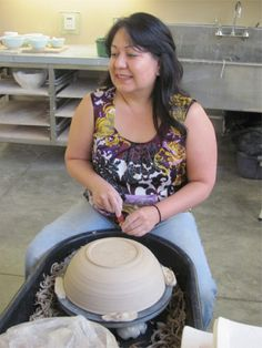 Eva Bedolla; Wheel-thrown and Handbuilt ceramics NVOS 2014 - Studio #20 Napa, CA 94558 www.EvaBedolla.com www.NapaValleyOpenStudios.org