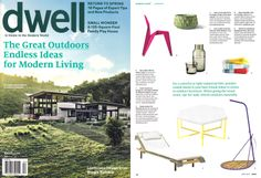 Did you see #nichemodern in #Dwell? They are showing off one of our NEW Table Top products... Be one of the first to see!