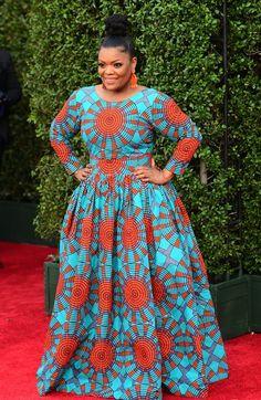 African Outfits, African Dress, African Fashion, Yvette Nicole Brown, Together Fashion, Beautiful, Dresses, Curvy Women Fashion, Feminine Fashion