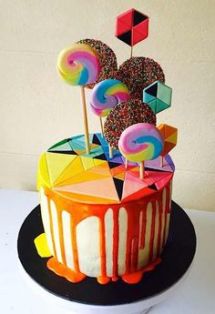 Cake Wrecks - Home - Sunday Sweets: Modern Geometry