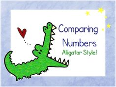 Using a hungry number-eating alligator, students learn to compare numbers using the  symbols in this Power Point lesson. If using in Elluminate, yo...