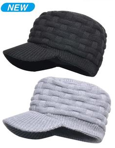 Waterproof Peaked hats in Black and Grey Colours