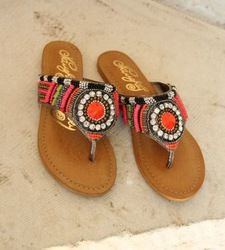 Electric Shine Sandals
