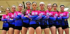 best volleyball team poses ,best sports team pictures , volleyball hd wallpapers