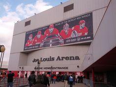 Joe Louis Arena in Detroit, MI