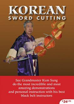 Kum Sung Martial Arts - Korean Sword Cutting