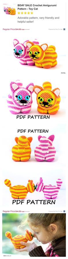 50% off this highly rated crochet Amigurumi pattern - for a limited time only