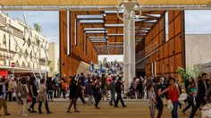 Brazil Pavilion At Expo Milano 2015 - Picture gallery Expo Milano 2015, Expo 2015, Steel Windows, Windows And Doors, Pavilion Design, Street View, Studio, World, Gallery