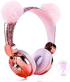 Pink Headphones, Girl With Headphones, Best Headphones, Music Headphones, Cute Suitcases, Girly Phone Cases, Apple Watch Accessories, Hello Kitty Items, Bear Ears