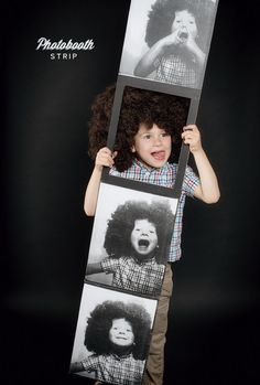 Homemade Halloween Photobooth Strip Costume | Oh Happy Day!
