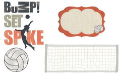 Volleyball - Digital Freebies from Creative Memories - more info www.myCMsite.com/cathywallin