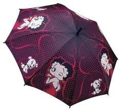 Betty Boop - Lovely but of course not practical with the winds around here, it would be decoration for sure.