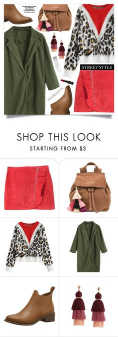 """Street Smart"" by mahafromkailash ❤ liked on Polyvore featuring MANGO, The Wolf Gang and NYX"