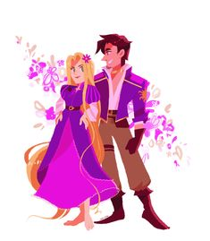 Eugene's new outfit is the best so far! *-* Corona (Corona) disease is a big Rapunzel And Eugene, Tangled Rapunzel, Princess Rapunzel, Disney Tangled, Disney Magic, Rapunzel Story, Sailor Princess, Disney Wiki, Disney And Dreamworks