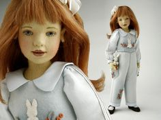 Jane 16.5 Inch Tall Felt Doll Edition Size: 80 Created in 2007