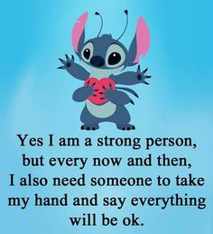 Disney Stitch, Funny Disney Memes, Disney Quotes, Quotes Deep Feelings, Mood Quotes, Lilo And Stitch Memes, Stich Quotes, Lelo And Stitch, Stitch Drawing