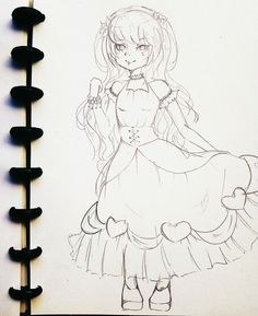 Hey hello to my oc canna meghan Sketching