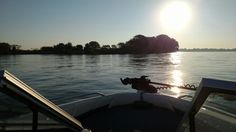 Sunrise over Strawberry Island in the Niagara River