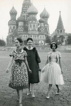 modelling in Russia, 1950s @Kristina Kilmer Kilmer Kilmer Domansky