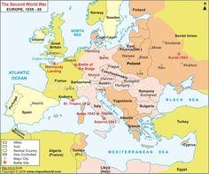 10 Best World War II maps images | World war two, Facts, Battle
