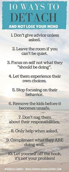 10 ways to detach ...