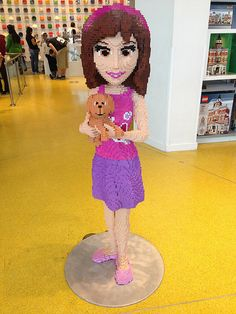 Life Size LEGO Friends Character