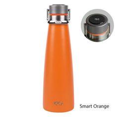New Upgrade Xiaomi KKF Smart Thermos Temperature Display Vacuum Bottle Vacuum Flask Travel Mug Stainless Steel Cup Vacuum Flask, Stainless Steel Cups, Cool Gadgets, Travel Mug, Display, Mugs, Digital, Bottle, Insulation