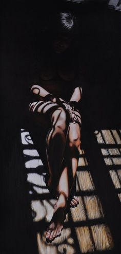 Victoria Selbach, hyper-realism.. wow looks like a photograph