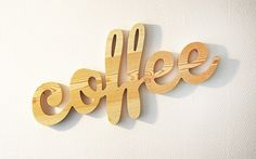 Typographic Objects by You Talking To Me