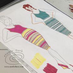 Learn stacks of illustration techniques at #StitchesandCraftNewcastle next weekend! SUN 20 AUG #JerseyTwistPatterns
