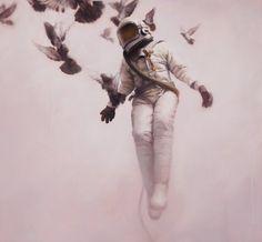 Jeremy Geddes es un pintor hiper-realista